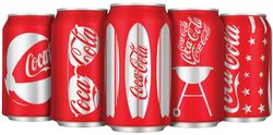 Coke can for summer