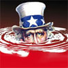 Uncle sam drowning