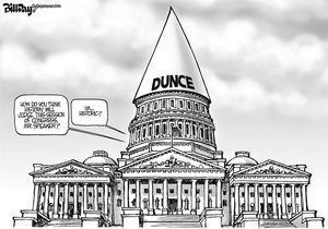 Capitol Dunce