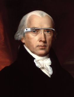 Madison Google glasses