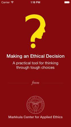 Ethics app